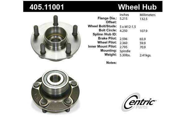 centric-CE 40511001 Fro