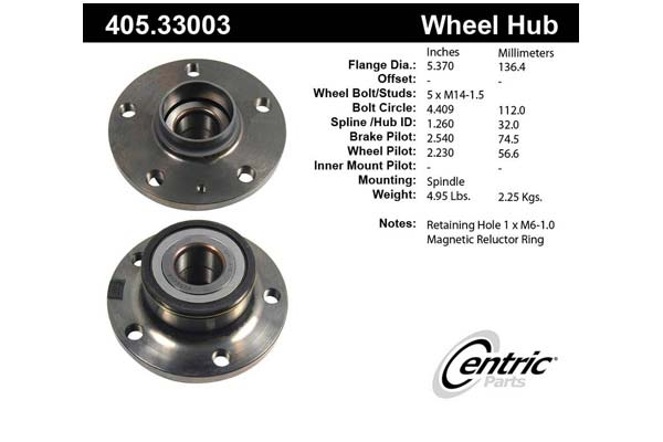 centric-CE 40533003 Fro
