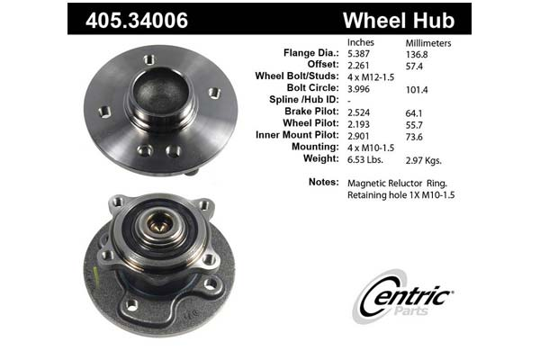 centric-CE 40534006 Fro