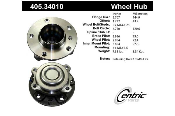 centric-CE 40534010 Fro
