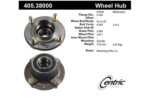centric-CE 40538000 Fro
