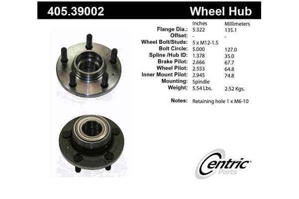 centric-CE 40539002 Fro