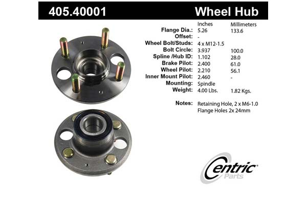 centric-CE 40540001 Fro