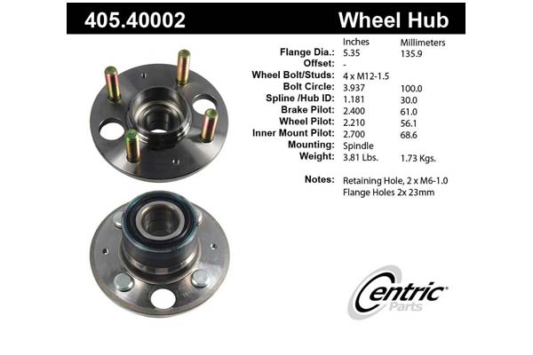 centric-CE 40540002 Fro