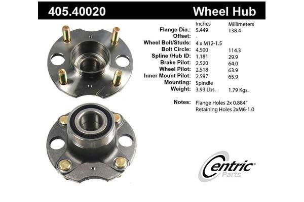 centric-CE 40540020E Fro