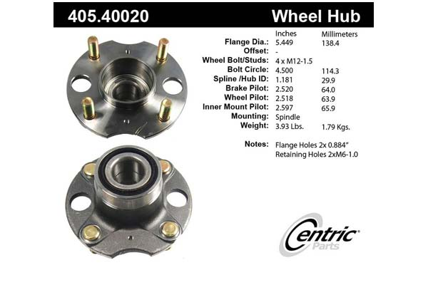 centric-CE 40540020 Fro