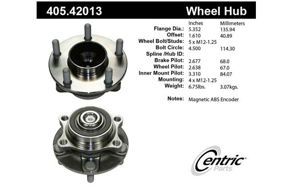 centric-CE 40542013 Fro