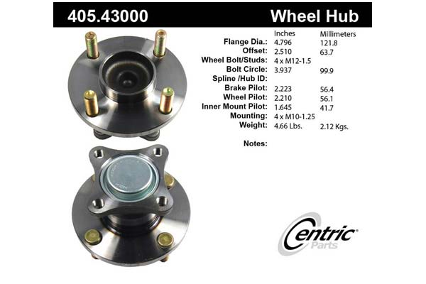 centric-CE 40543000 Fro