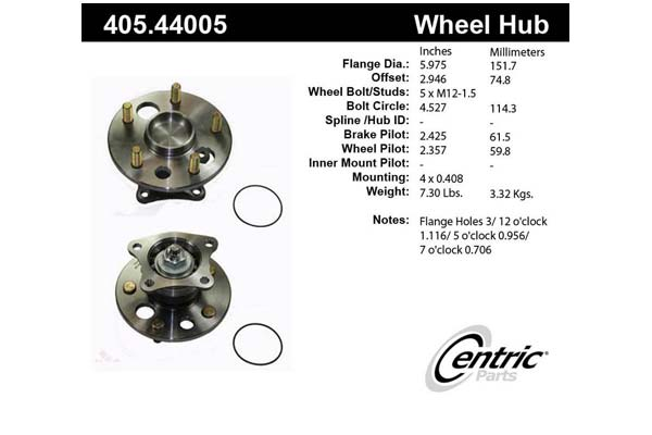 centric-CE 40544005 Fro