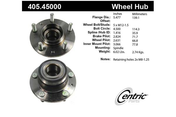 centric-CE 40545000 Fro