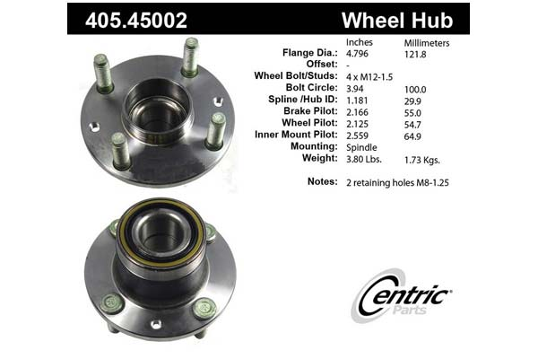 centric-CE 40545002 Fro