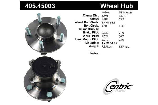 centric-CE 40545003 Fro