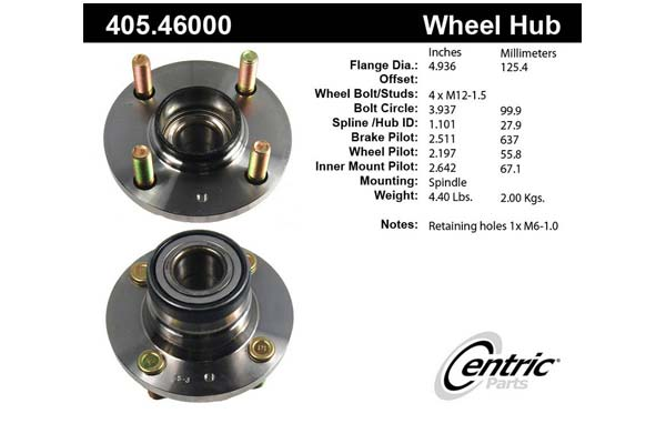 centric-CE 40546000 Fro
