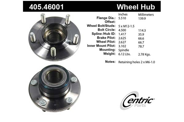 centric-CE 40546001 Fro