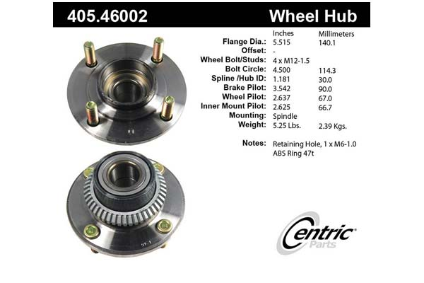 centric-CE 40546002 Fro