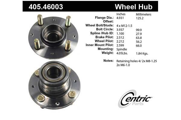 centric-CE 40546003E Fro