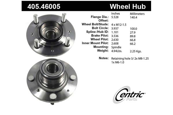 centric-CE 40546005 Fro