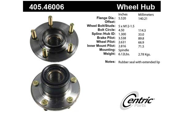 centric-CE 40546006 Fro