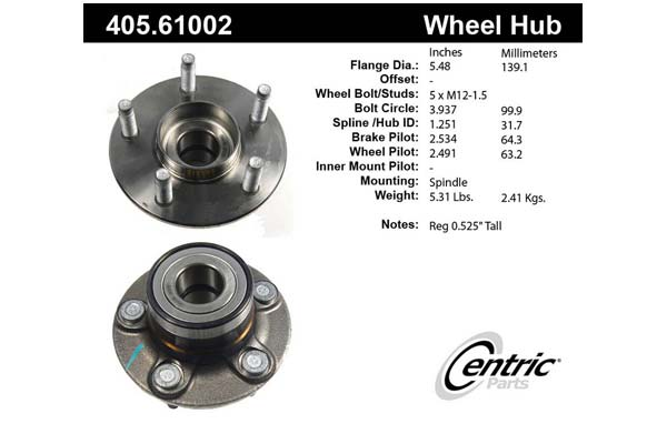 centric-CE 40561002 Fro