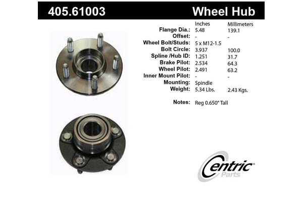 centric-CE 40561003 Fro
