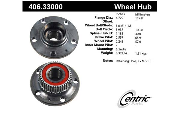 centric-CE 40633000 Fro
