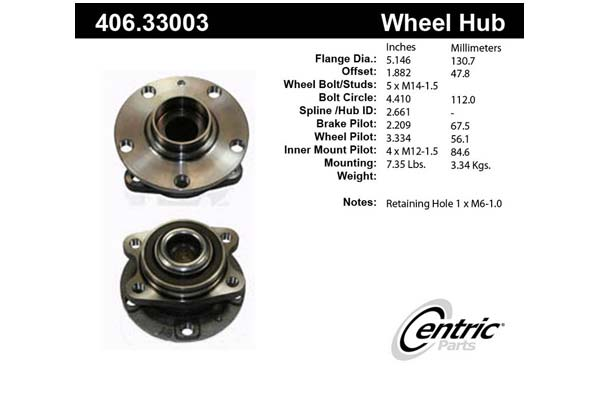 centric-CE 40633003 Fro