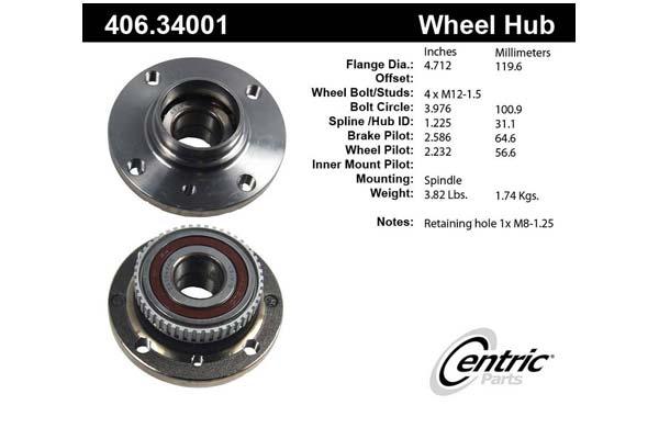 centric-CE 40634001E Fro