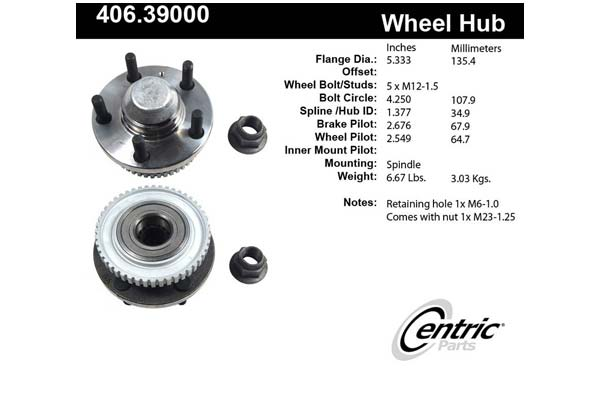 centric-CE 40639000 Fro