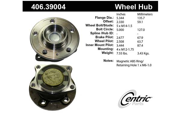 centric-CE 40639004 Fro