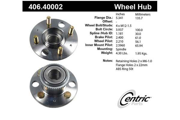 centric-CE 40640002E Fro