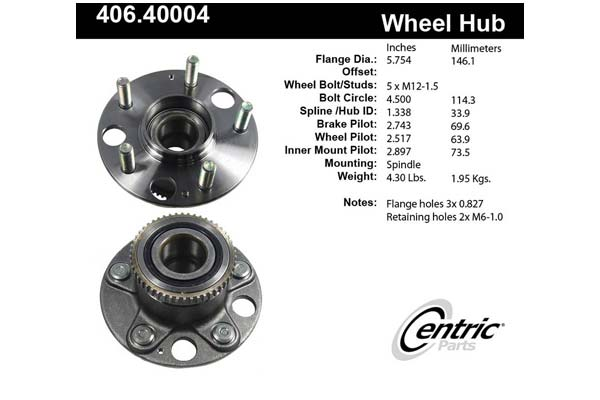 centric-CE 40640004 Fro