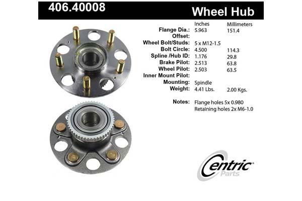 centric-CE 40640008E Fro