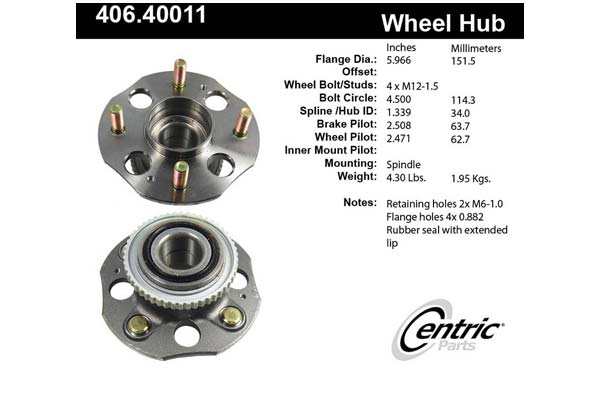 centric-CE 40640011 Fro