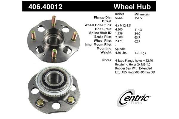 centric-CE 40640012E Fro