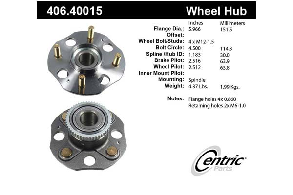 centric-CE 40640015 Fro