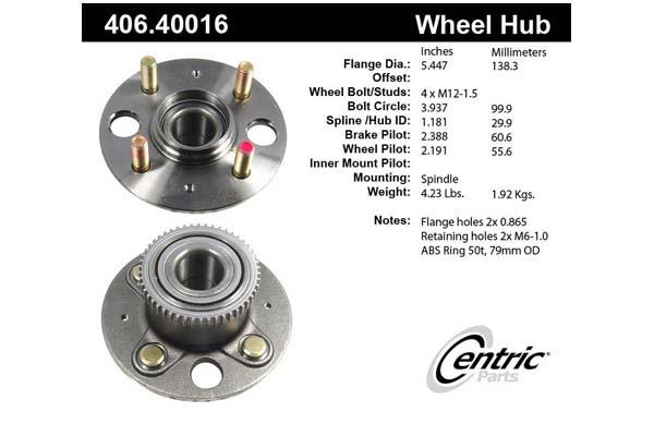 centric-CE 40640016E Fro