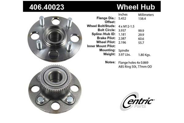 centric-CE 40640023E Fro