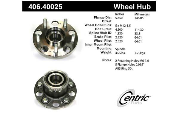 centric-CE 40640025E Fro