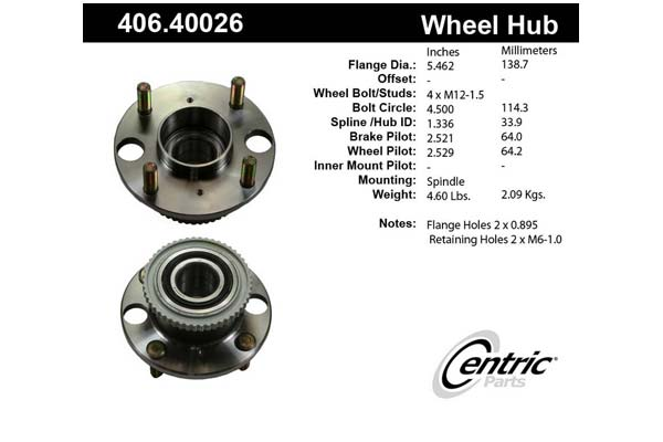 centric-CE 40640026 Fro