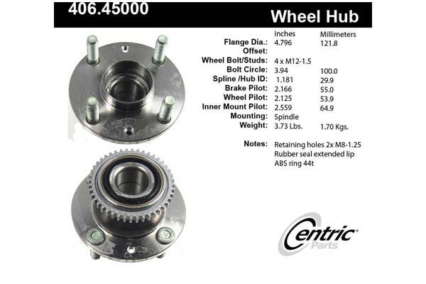 centric-CE 40645000E Fro