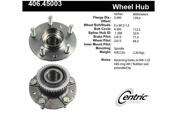 centric-CE 40645003E Fro