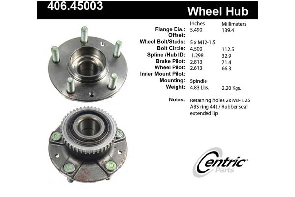 centric-CE 40645003 Fro