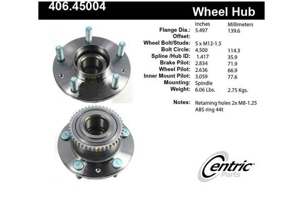 centric-CE 40645004E Fro