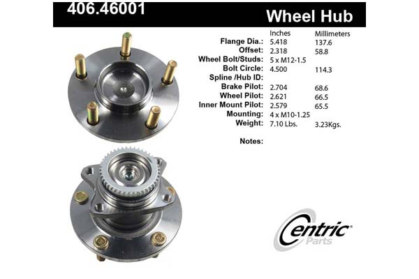 centric-CE 40646001 Fro