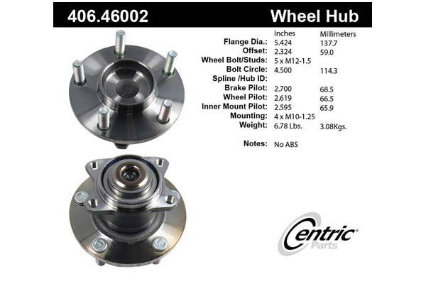 centric-CE 40646002 Fro