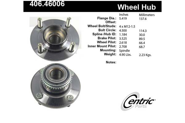 centric-CE 40646006 Fro