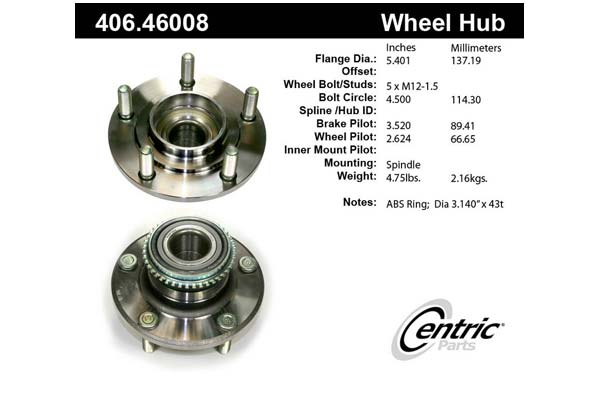 centric-CE 40646008 Fro