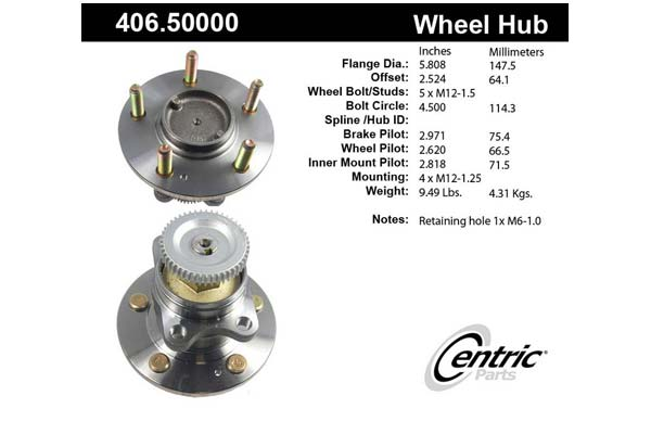centric-CE 40650000 Fro