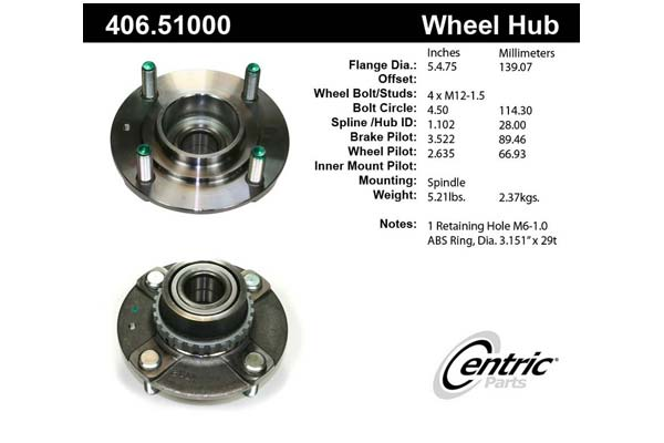 centric-CE 40651000 Fro