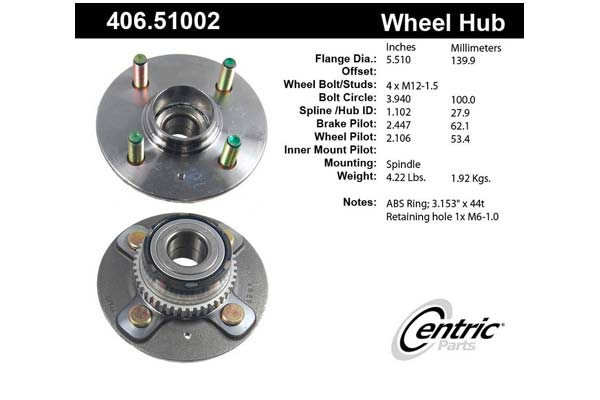 centric-CE 40651002 Fro
